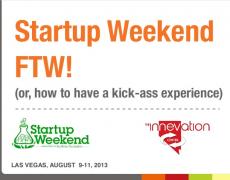 Talk :: Startup Weekend, Las Vegas Style!