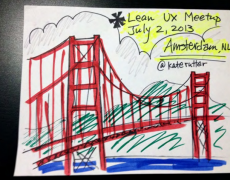 Talk :: Kickoff for Lean UX Meetup, Netherlands