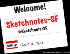 Talk :: Sketchnotes-SF Kickoff Meetup