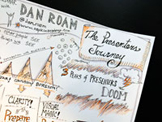 Sketchnotes from Napkin Academy Live :: The Presenters' Journey with Dan Roam
