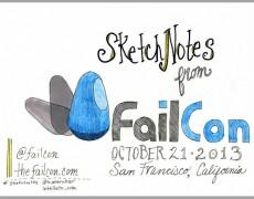 Sketchnotes :: FailCon 2013