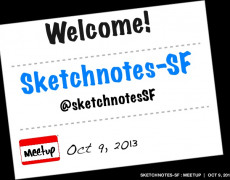 Talk :: Sketchnotes-SF Meetup 02 [Oct 2013]