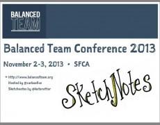 Sketchnotes :: Balanced Team 2013