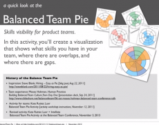 Video :: Balanced Team Pie : Skills Activity 2013