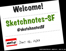 Talk :: Sketchnotes-SF Meetup 04 [Dec]