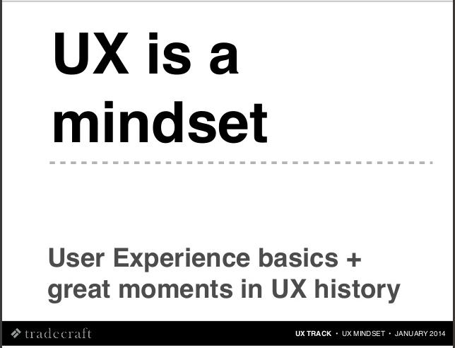 UX is a Mindset thumbnail