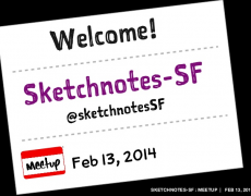 Talk :: Sketchnotes-SF Meetup 06 [Feb]