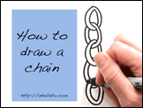 How to draw a chain