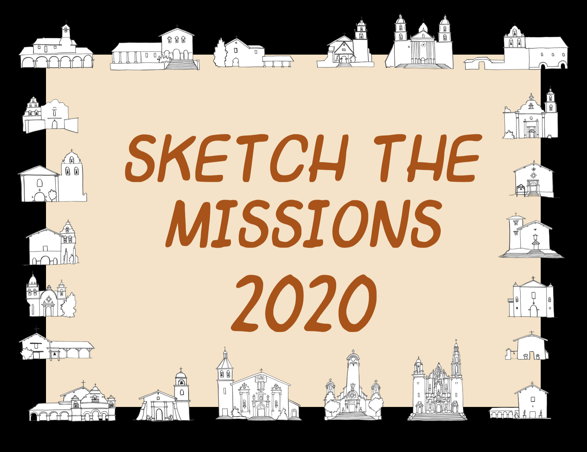 Sketch the Missions logo